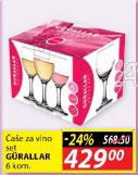 Čaše za vino GURALLAR