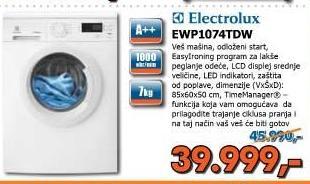 Veš mašina EWP 1074TDW