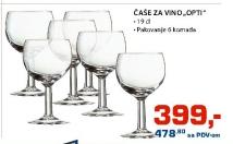 Čaše za vino ''Opti''