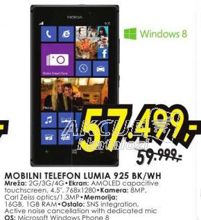 Mobilni telefon Lumia 925 BK