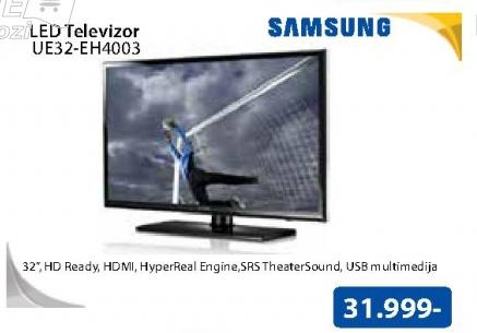"Televizor LED 32"" UE32-EH4003"