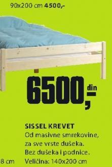 Krevet Sissel 140x200