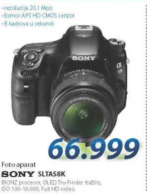 Fotoaparat SLTA58K