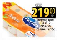 Toalet papir De Luxe Breskva