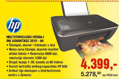Štampač INK Advantage 2515-A4