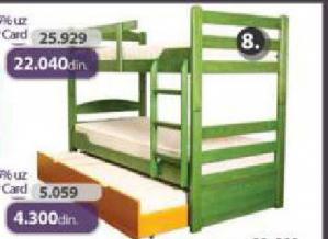 Krevet na sprat K-1