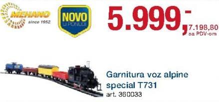 Garnitura Voz Alpine Special T731 Mehano