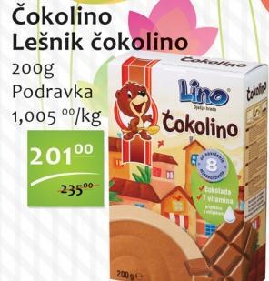 Dečija hrana Čokolino lešnik