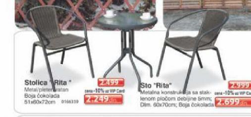 Stolica ''Rita''