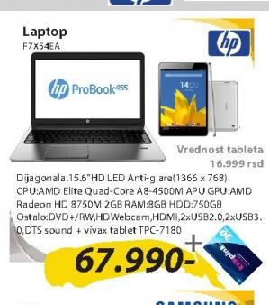 Laptop F7X54EA