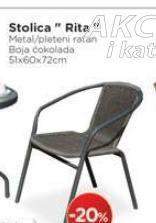 Baštenski stolica Rita