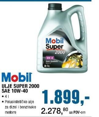 Motorno ulje Super 2000 SAE 10W-40
