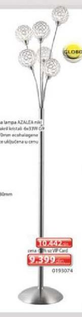 Podna lampa Azalea