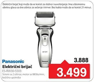 Električni brijač Es-Rw30-S503