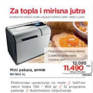 Mini Pekara BM 900 AL