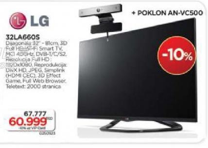 LED Tv 32LA660S