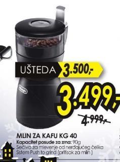 Mlin za kafu KG40