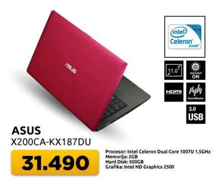 Laptop X200ca-kx187du