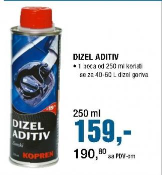 Dizel aditiv