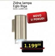 Zidna lampa Eglo Riga