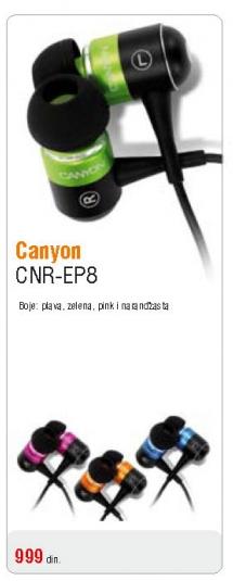 Slušalice CNR-EP8