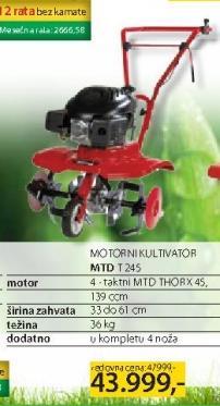 Motorni kultivator MTD T245