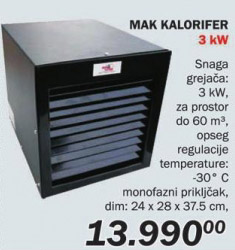Kalorifer Mak
