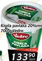 Kisela pavlaka 20% mm
