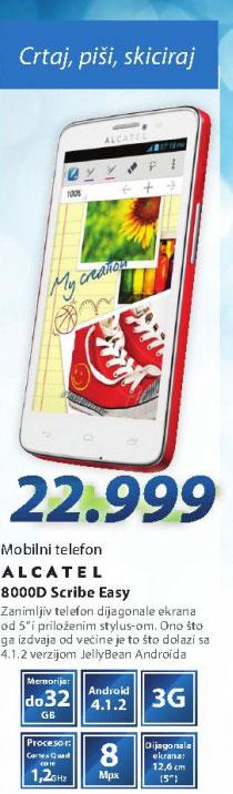 Mobilni Telefon  GSM Smartphone GSM 8000D SCRIBE