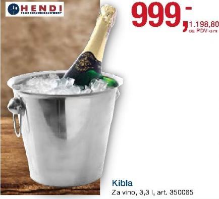 Kibla za šampanjac