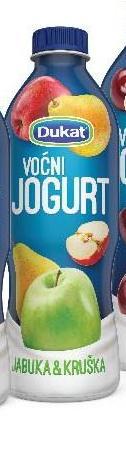 Voćni jogurt kruška
