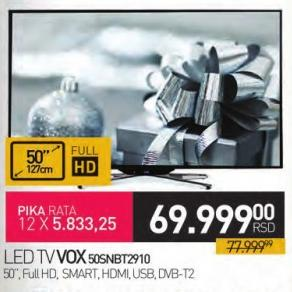 "Televizor LED 50"" 50snbt2910"