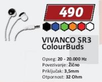 Slušalice Sr3 Colour Buds Vivanco