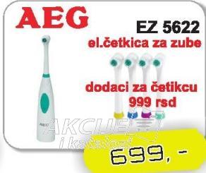 Četkica za zube na baterije EZ5622