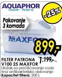 Filter patrona V100 25 Maxfor