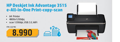 Štampač  DeskJet Ink Advantage 3515