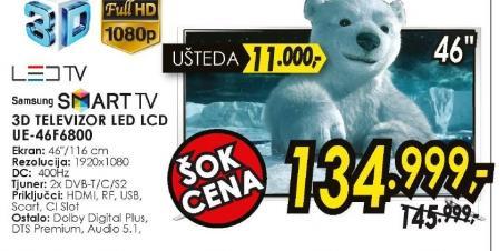 Televizor 3D LED LCD UE-46F6800