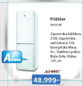 Frižider BIAA34F