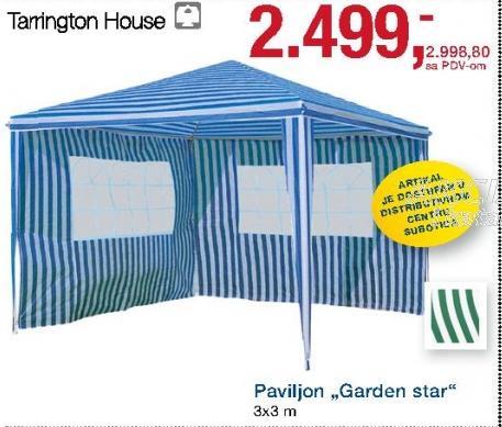 Paviljon Garden star