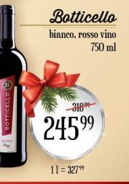 Crveno vino Botticello