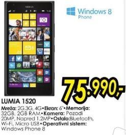 Mobilni telefon Lumia 1520