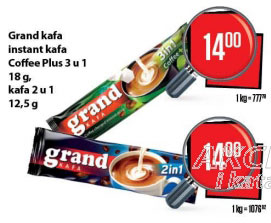 Kafa instant 3u1 coffee plus