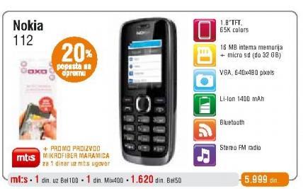 Mobilni telefon 112