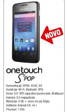 Mobilni telefon ONE TOUCH S'POP