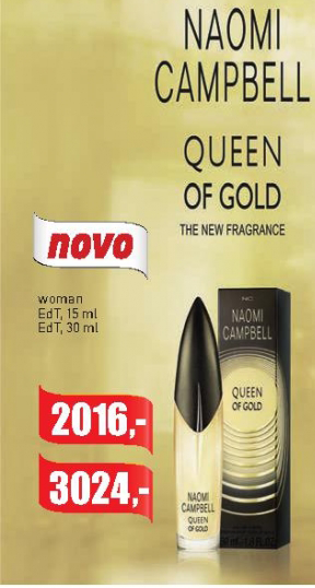Toaletna voda Queen of Gold