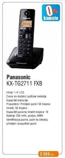 Bežični telefon Kx-Tg2711fxb
