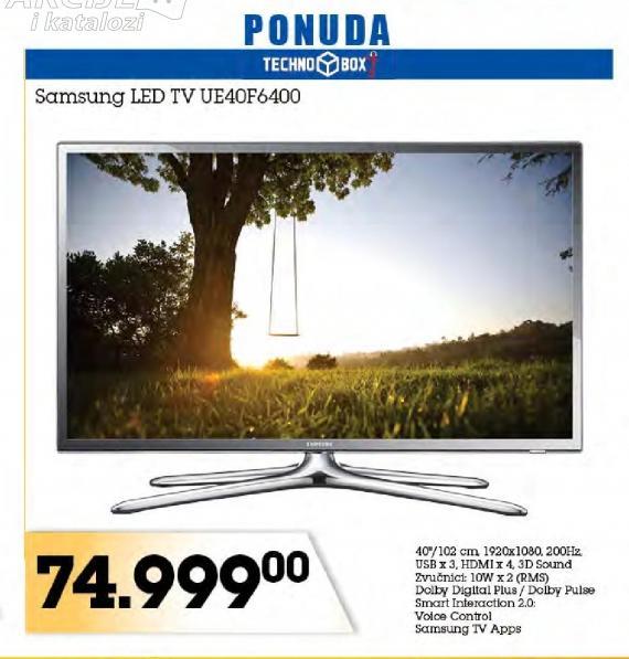 "Televizor LED 40"" UE40F6400"