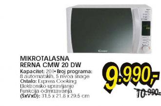 Mikrotalasna rerna CMW 20 DW