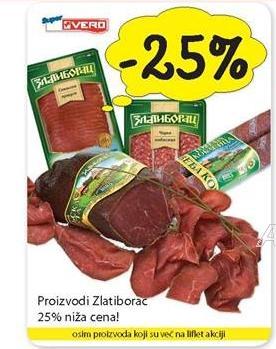 25% popusta na Zlatiborac proizvode