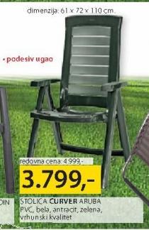 Baštenski stolica Aruba